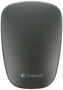 LOGICOOL Logitech Bluetooth Ultra Slim Touch mouse black T630BK from JAPAN [dtg]