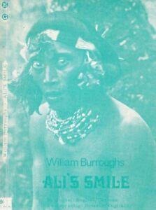 WILLIAM S. BURROUGHS - ALI'S SMILE - BI-LINGUAL ENGLISH/GERMAN EDITION 1973 1ST