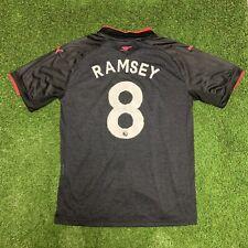 2017 2018 Arsenal Third Jersey Shirt Kit Ramsey Black Pink Away Puma Large L 8