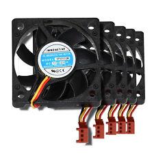 5 PC-Lüfter im Set, jeweils 50x50x10mm, Axial,  SP501012M, DC12V / 0,10A, 3pin