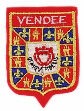 Ecusson brodé (patch/embroidered crest) ♦ Vendée