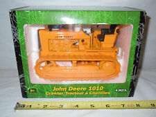 John Deere 1010 Industrial Crawler  With Rubber Tracks  By Ertl