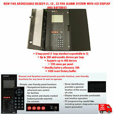 FIKE ADDRESSABLE BS5839 L1,L2,L3 FIRE ALARM SYSTEM WITH LCD DISPLAY & BATTERIES