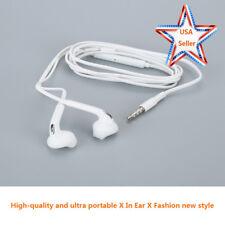 Audifonos Wired 3.5mm In-Ear Earbuds Fit Samsung Galaxy S6 Earphones Handsfree #