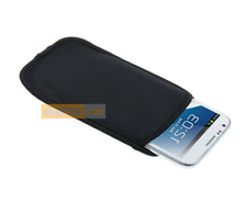 Etui Housse Néoprène POUCH BAG Noir compatible HTC U11
