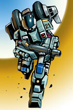 Mospeada/Robotech Cyclone Poster Scott/Stick 12inchesx18inches Free Shipping
