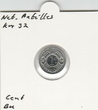 Netherlands Antilles 1 cent 1991 BU - KM32