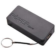 NEW 5600mAh 2X 18650 External USB Power Bank Battery Charger DIY Box Case Holder