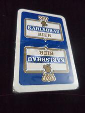 sehr seltenens Skatspiel Karlsbräu Brauerei Karlsberg unbespielt