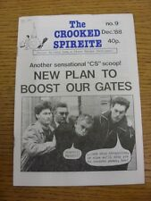 Dec-1988 Chesterfield: The Crooked Spireite  No.09 - Independent Football Magazi