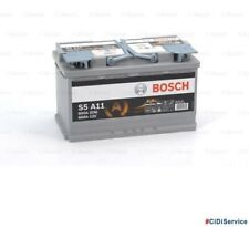 0092S5A110 Batteria Auto Bosch Silver S5A 11 80 AH Ampere 800 EN 12V AGM