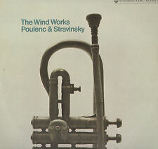 CLASSICAL LP WIND WORKS POULENC & STRAVINSKY
