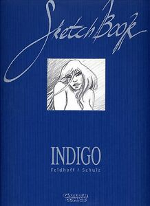 INDIGO SKETCHBOOK signed ROBERT FELDHOFF/DIRK SCHULZ lim.500 Ex CARLSEN-ARTBOOK