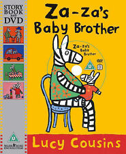 **NEW PB & DVD** Za-Za's Baby Brother by Lucy Cousins
