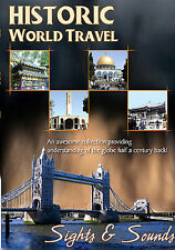 Historic World Travel - Sights and Sounds (DVD, 2005)