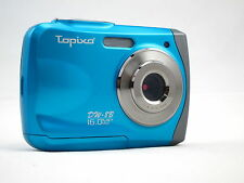 Topixo 16MP max resolution underwater digital camera, Waterproof, lomo effect