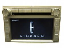 LINCOLN Navigation GPS Radio 6 Disc CD Changer MP3 Player OEM 8H6T-18K931-AC