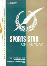 SA Sports Star of the Year 1965 Dinner Menu Card, Karen Muir, Harold Henning