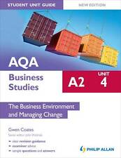 Acceptable, AQA A2 Business Studies Student Unit Guide New Edition: Unit 4 The B