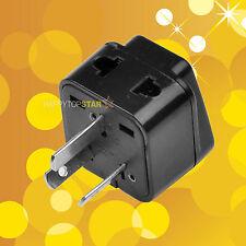 Australia New Zealand Plug to Universal UK/US/EU 2 / 3 Pin Splitter Plug Adapter