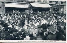 CARTE POSTALE // NANCY OBSEQUES DU CARDINAL MATHIEU 1908