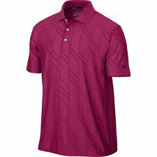 Nike Embossed Polo Hyper Fuschia Size Small