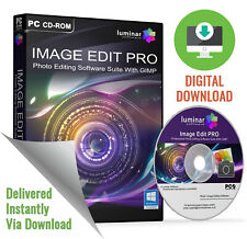 Image Edit PRO Suite - Photo Image Editing Retouching Software (Download)