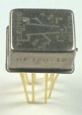 RELAY RF UHF *LATCHING* DPDT - TELEDYNE RF120-12 - *UNUSED* *NOS*