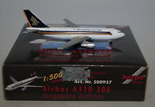 Herpa 500937 Airbus A310-324 Singapore Airlines in 1:500 scale