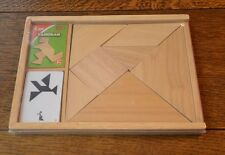 TIGA WOODEN TANGRAM PUZZLE - BRAND NEW EDUCATIONAL - HOME SCHOOL - DAY CARE