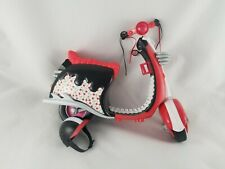 Monster High Ghoulia Yelps Red Black Cherry Scooter and Helmet