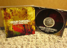 DOUR CURSIVA Voices Through Wires CD 2007 Rhode Island punk rock Old Glory Hole
