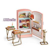 American Girl Maryellen's Refrigerator Fridge & Food Set for Dolls NEW IN BOX