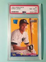 1994 U.D.Collector's Choice DEREK JETER RC HOF PSA 8.5 NM-MT+  New York Yankees