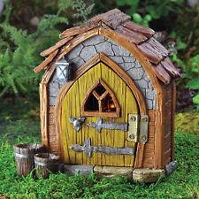Fiddlehead Gnome Foyer Miniature Fairy Garden Fairies Hobbit Accessory Ornament