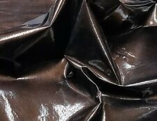 Patent Bronze On Pig Suede Leather 8.25sf Crafts Handbag Lining Jewelry
