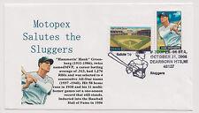 US 2006 Motopex Cover Hank Greenberg Baseball Star Dearborn Heights Michigan |