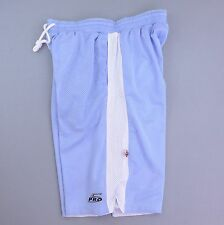 PRO5 3XL REVERSIBLE BASKETBALL SHORTS BIG TALL LONG ATHLETIC HEAVY WEIGHT BLUE