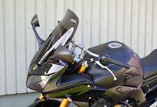 Yamaha FZ1 Fazer 1000 06 16 Touring Windshield Shield Gray - Powerbronze X