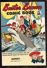 Buster Brown Comic Book #35 ~~ Crandall Art ~ 1954 (6.5/7.0) WH