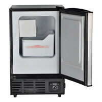 Smad Stainless Steel Built-In Ice Cube Machine Restaurant Commercial Ice Maker