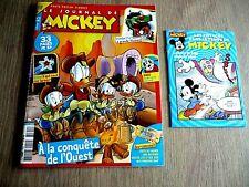 LE JOURNAL DE MICKEY  N° 3594 -  5  MAI  2021  /  A  LA  CONQUÊTE  DE  L'OUEST