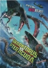 Sharktopus vs. Pteracuda 2014 Japanese Chirashi Mini Movie Poster B5