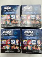 Funko Mystery Minis Blind Box Disney Heroes Vs Villains Vinyl Figure (4 Each)
