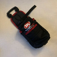 "TURANAIR SYSTEMS INC SMALL GAS AIR TANK CAN HOLDER POUCH 12.5"" PAINTBALL NEW"