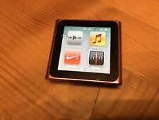 Apple Ipod Nano 6G 8GB Rosa