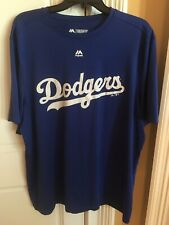 Majestic Mlb La Dodgers Shirt Mens Xl Evolution Tee T Shirt Baseball-New