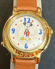 """New listing Mickey Mouse """"Happy Birthday"""" Musical Watch Brand New"""