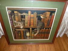 Ltd Ed Signed Charles Wysocki 'Frederick The Literate' Pro Framed