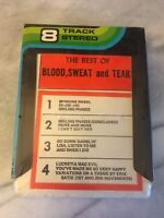 The Best Of Blood, Sweat and Tears 8-track SEALED
